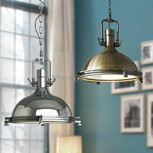 Industrial style lighting fixtures high quality new design antique brass lamps