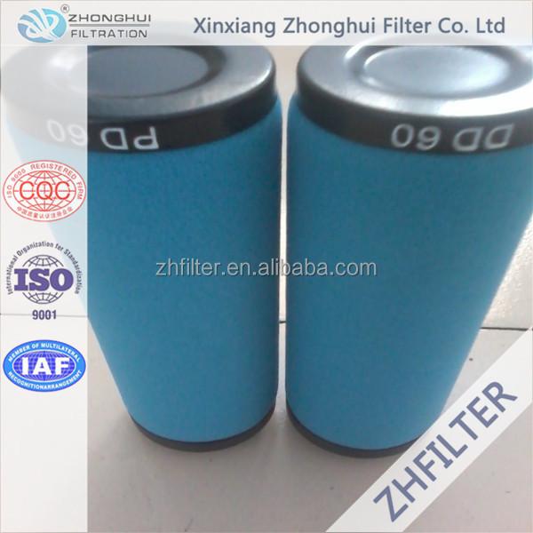 Atlas copco compressed air filter element DD60