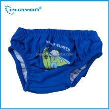 Impressão do bebé nadar fraldas bom material para bebê swim fraldas