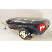 Hot sale hand lay up fiberglass travel trailer for sale