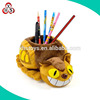 office supplier pen container plush animal shaped
