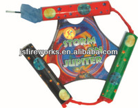 Spinning Triangle Wheel With Whistle Fireworks