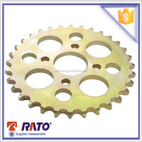 32teeth 530 color zinc plated motorcycle chain sprocket wheel for sale