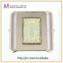 Factory direct sell alloy crazy belt buckles for womans