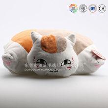 Funny Plush cat shaped Cushion Plush Cartoon Doll Cushion