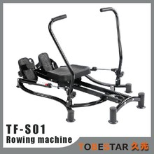 Fitness Space Saver Pulley Row Low Impact Cario Workout Home Rowing Machine