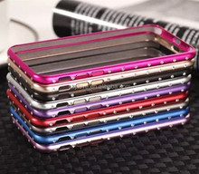 Colorful aluminum bumper case for Iphone6 wholesale
