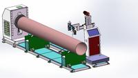 Shanghai Shining stainless steel tube making machine XY-H600 high frequency welded pipe making machine