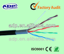 4Pair UTP FTP SFTP Cat5e Lan Cable24awg made in China