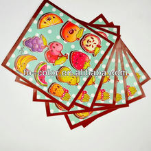 OEM Scratch and Smell Packing Label Adhesive Sticker