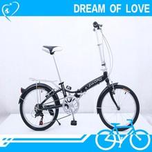 20er mini 6 gears alu super pocket bike