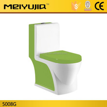 Hot Sale!!! One Piece Colored Toiet Ceramic sanitary ware M5980