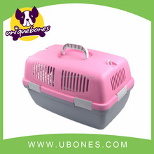 Removable High quality plastic dog airline carrier travel cage cat cage pet products