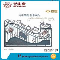 Galvanized Wrought Iron Gardening Gates