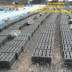 Best price and hot selling QT10-15 mobile concrete hollow block making machine