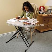 Modern portable foldable study table and chair set