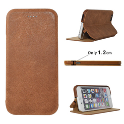 China Supplier Italy Genuine Leather Case 5.5inch Covers For Iphone 6s