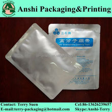 Custom print aluminum foil retort pouch for meat package