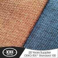 2015 linen style jacquard fabric new curtain model