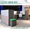 Office Furniture, 1.2m Screen Office Workstation, MDF Top Desk