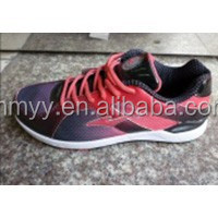 Fashion stock female casual shoes, girl sports shoe for clearance