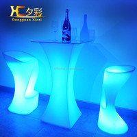 LED table bar decoration bar table counter top/night club furniture