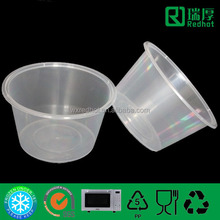 Food Storage plastic Disposable Bowl Can Be Taken Away 1500ml