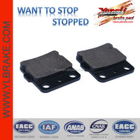 Semi-metallic atv quality brake pad brake disc lathe