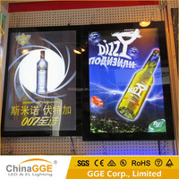 Factory price high quality snap aluminum frame LED light box for billboard display