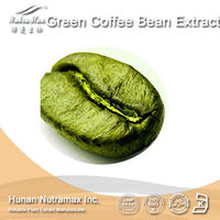 GMP Manufacturer Supply High Quality Green Coffee Bean Extract powder, ,Chlorogenic acid 30%, 45%, 50%, 60%,