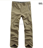 TAD Soft Shell outdoor pants Thicken Combat pants Military training sports Fleece lining pants