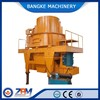 Vertical shaft impact crusher, with new stone shaping machine for quarry plants.