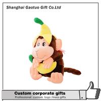 colorful stuffed lemur plush toys display custom plush toy