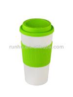 snowman plastic travel coffee mugs