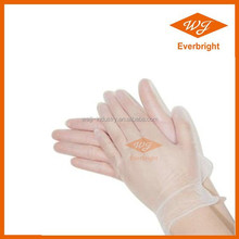Disposable medical gloves/ vinyl glove for beauty/nail/salon powdered and powder free