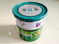 20L Tin drum with steel handle for paint, coating or other chemical products