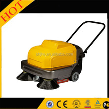 high qaulity hand push electric supermarket ground sweeper