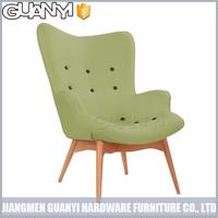 wood leg the european and american style fabric sofa