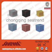 2015 Popular China Professional Manufacturer Ornamental NdFeb Magnet Colors Buckyballs