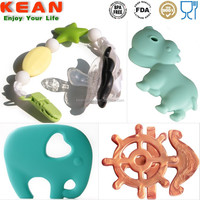 High End Baby Silicone Teether Happy Kids Teether Toy