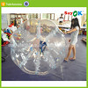 transparent outdoor inflatable buddy bumper ball zorbing on water