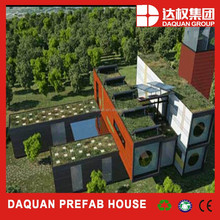 DAQUAN Decorated light prefab metal frame steel structure warehouse buildings container kit