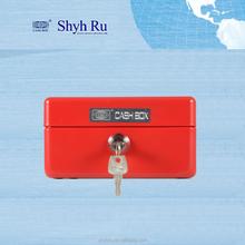 EXTRA SMALL LOCKABLE PORTABLE METAL STEEL VAULT MONEY BOX CASHBOX