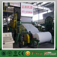 Model-1092mm tissue paper pulp machine for sale