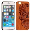 Solid Carvings Pattern Protective Wooden Case for iPhone 6 6S