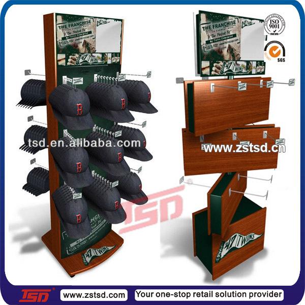 Tsd M5127 Baseball Cap Display Rack Hat Display Shelf