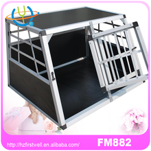 portable pet transport cages aluminum dog crate
