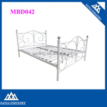 bedroom furniture, metal bed with iron ball
