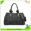 alibaba china 2015 leather folding travel bag in black