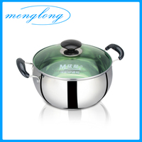 Belly Shaped Stainless Steel Soup Pot Stainless Steel Pot Set Stainless Stock Pot